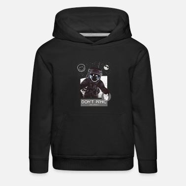 SmileyWorld Astronaut Don't Panic - Kids' Premium Hoodie