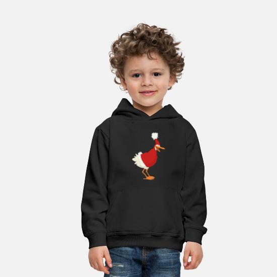Christmas Hoodies & Sweatshirts - christmas chicken - Kids' Premium Hoodie black