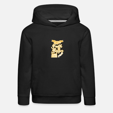 Fidel Let Your Faith Be Bigger Than Your Fear - Kids' Premium Hoodie