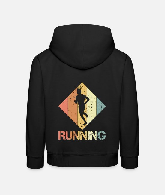 Training Hoodies & Sweatshirts - to jog - Kids' Premium Hoodie black