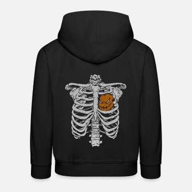 Halloween, octobre, Creepy, Costume d'Halloween, Ha - Sweat à capuche premium Enfant