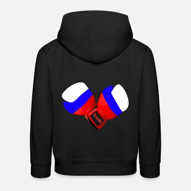 Boxing Gloves Russia Boxing Boxing Gloves Boxing Gloves - Kids' Premium Hoodie