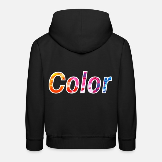 Gift Idea Hoodies & Sweatshirts - colour - Kids' Premium Hoodie black