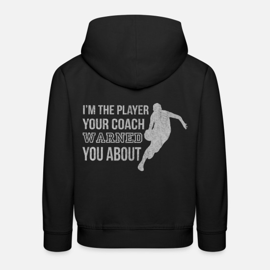 Basket Hoodies & Sweatshirts - Basketball, basketball, basketball play - Kids' Premium Hoodie black