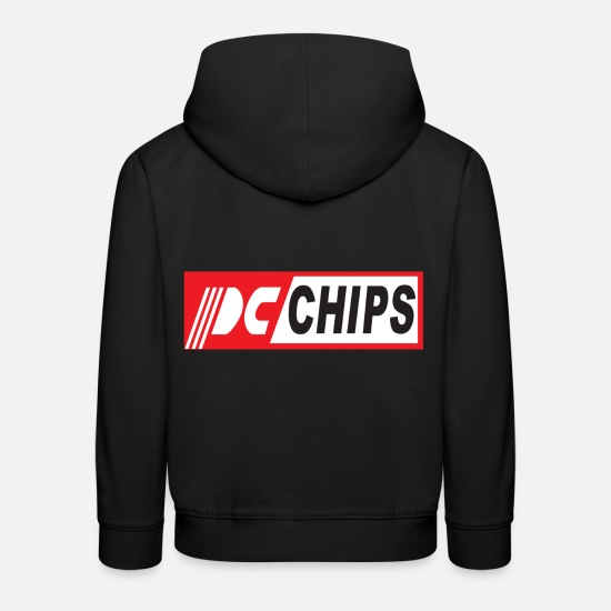 Stylish Hoodies & Sweatshirts - Pc Chips - Kids' Premium Hoodie black