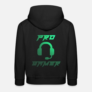 Gaming Pro Gamer Gaming Headset Konsole videogame - Kinder Premium Hoodie