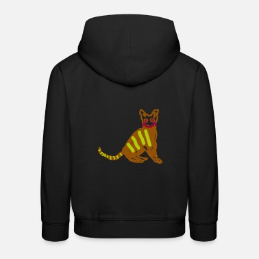 chat - Sweat à capuche premium Enfant