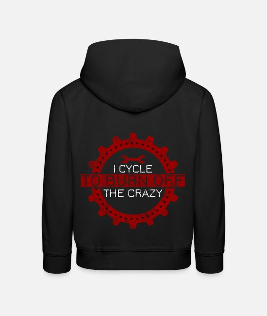 Hang Hoodies & Sweatshirts - Bike Bike - Kids' Premium Hoodie black