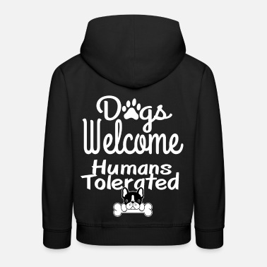Dogs people puppies dog lovers puppy - Kids' Premium Hoodie
