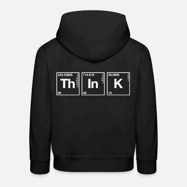 Symbol Think elements symbols periodic table - Kids' Premium Hoodie
