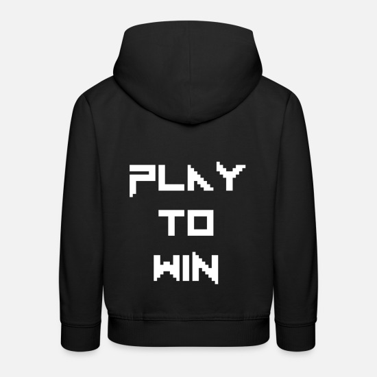 Play Hoodies & Sweatshirts - Gamer - Kids' Premium Hoodie black