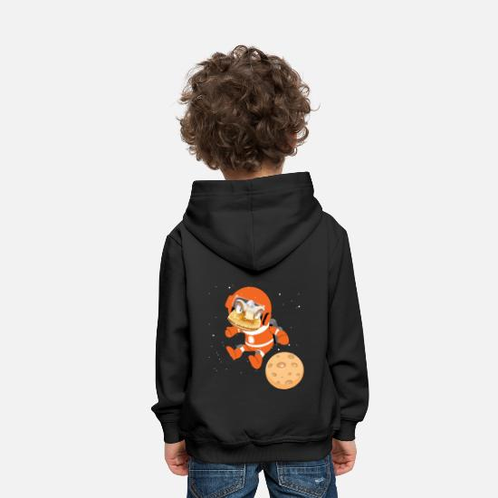 Space Hoodies & Sweatshirts - Spaceman - Kids' Premium Hoodie black