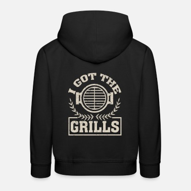 Glut I Got The Grills - Kids' Premium Hoodie