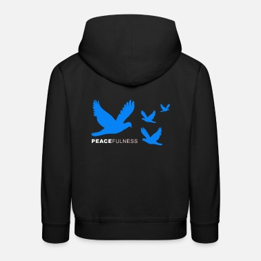 Peace Peacefulness - Peacefulness - Kids' Premium Hoodie