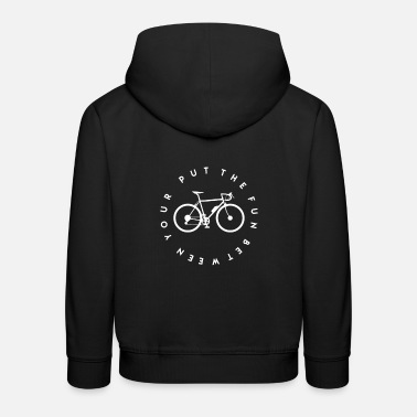Ride Bike Bike-riding bike - Kids' Premium Hoodie
