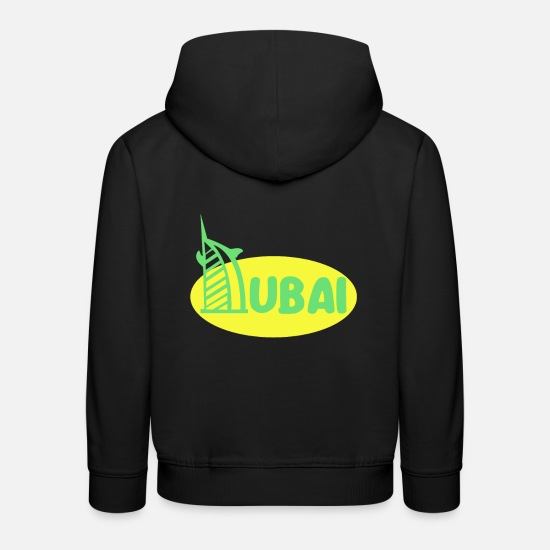 Travel Hoodies & Sweatshirts - Dubai - Kids' Premium Hoodie black