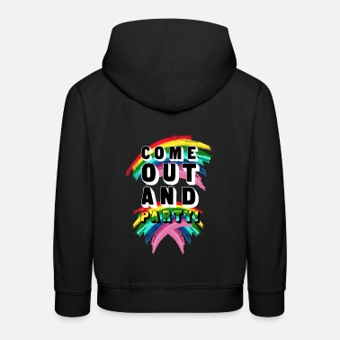 Coming Out Come Out And Party! - Kids' Premium Hoodie