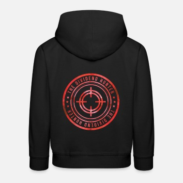 Financial Crisis Stock market Wallstreet dividend hunter share financial crisis - Kids' Premium Hoodie
