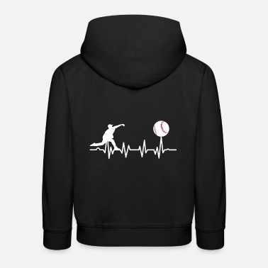 Pitcher Baseball pitcher - Kids' Premium Hoodie