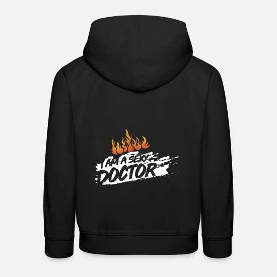 Doctor Hoodies & Sweatshirts - Doctor doctor - Kids' Premium Hoodie black
