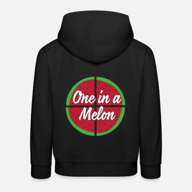 One Of A One in a melon - Kids' Premium Hoodie