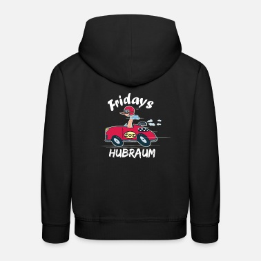 Fridays for cubic capacity I Future parody driving a car - Kids' Premium Hoodie