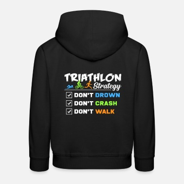 Strategie Triathlon Strategie - Kinder Premium Hoodie