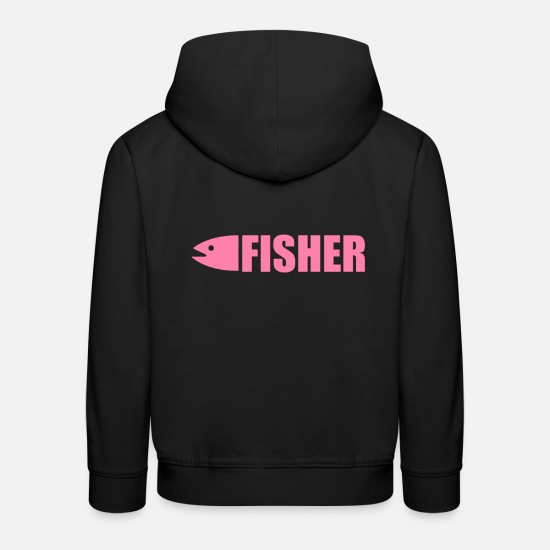 Gift Idea Hoodies & Sweatshirts - Fishing fishing fishing fishing - Kids' Premium Hoodie black