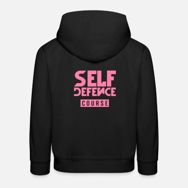 Class Struggle Self-defense course - Kids' Premium Hoodie