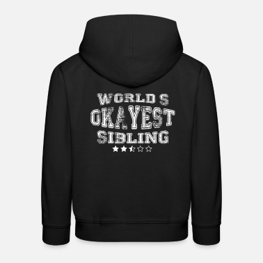 Working Time Creative Sibling design - Kids' Premium Hoodie
