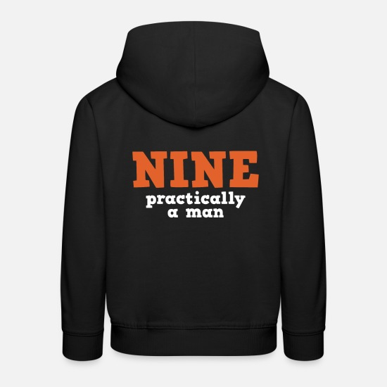 Birthday Hoodies & Sweatshirts - 9th birthday - Kids' Premium Hoodie black