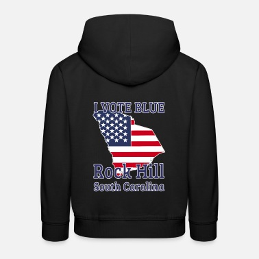 South Carolina 2020 Presidential Campaign I Vote Blue Rock Hill - Kids' Premium Hoodie