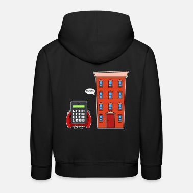 Savior Calculator savior - Kids' Premium Hoodie