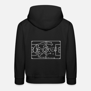 Strategie Fußball Strategie - Kinder Premium Hoodie