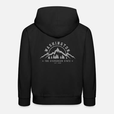 Washington Washington - Kinder Premium Hoodie
