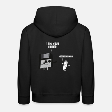 I am your Father USB flash drive and floppy disk - Kids' Premium Hoodie