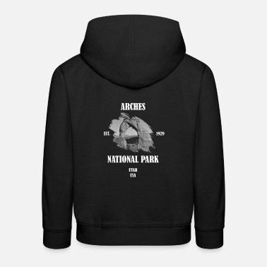 Arches National Park Utah USA Geology America - Premium hoodie barn