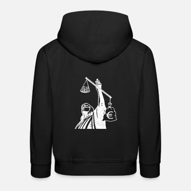 Class Struggle Injustice class struggle redistribution finances - Kids' Premium Hoodie