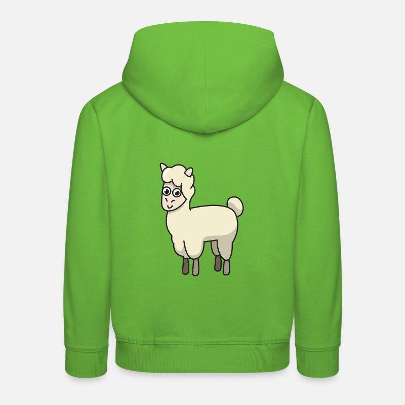 Aucun drame Lama-Enfants Sweat à Capuche Alpaga drôle Pun Chill Punny Cadeau Animal