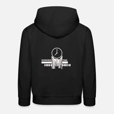 Working Time Working time loading Please wait Working time loading - Kids' Premium Hoodie