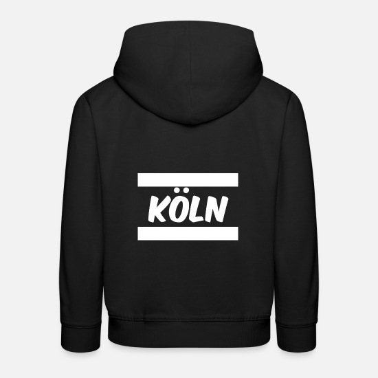 Country Hoodies & Sweatshirts - Cologne - Kids' Premium Hoodie black