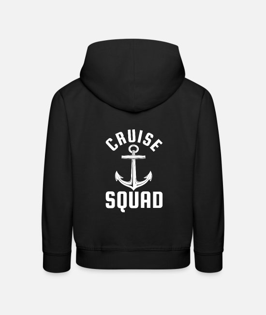 Travel Hoodies & Sweatshirts - Cruise troops - Kids' Premium Hoodie black