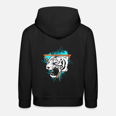 Tiger Tiger wonderful safari animals nature gift - Kids' Premium Hoodie