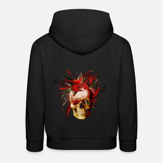 Digital Hoodies & Sweatshirts - Christmas mismatch by Mia Niemi - Kids' Premium Hoodie black