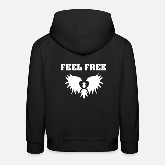 Free Hugs Hoodies & Sweatshirts - freedom - Kids' Premium Hoodie black
