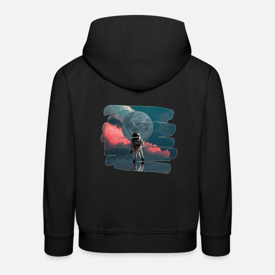 Space Hoodies & Sweatshirts - astronaut - Kids' Premium Hoodie black