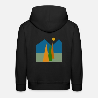 Abstract nature, Abstract nature. - Kids' Premium Hoodie