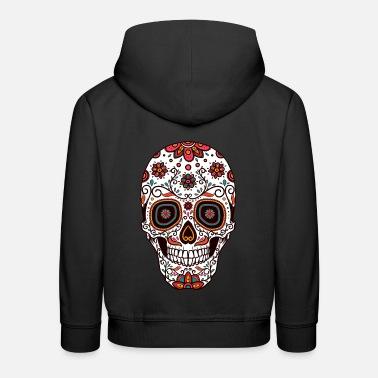 Sweat à capuche Femme Tête de Mort Mexicaine