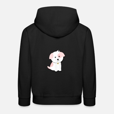 Cartoon dog - Kids' Premium Hoodie