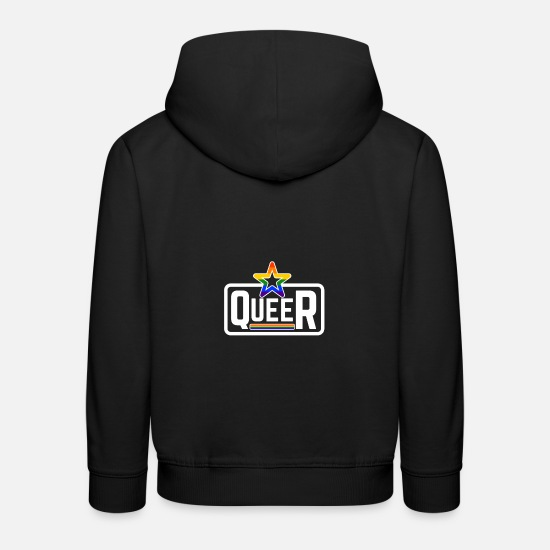 Gay Pride Hoodies & Sweatshirts - LGBT Queer Gay Pride Rainbow Coming Out - Kids' Premium Hoodie black
